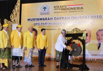 Cok Ace Minta Golkar Bali Berkontribusi Majukan Pembangunan Bali