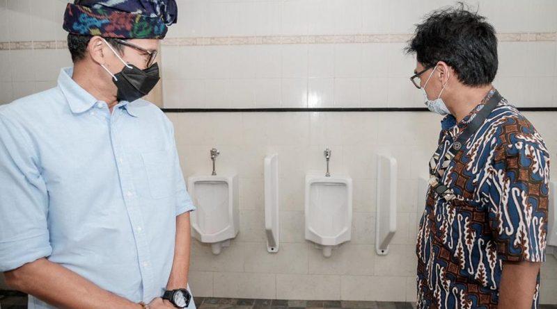 Menparekraf Gandeng ATI Revitalisasi Toilet di Tiap Destinasi Wisata